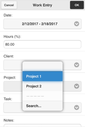 select projects
